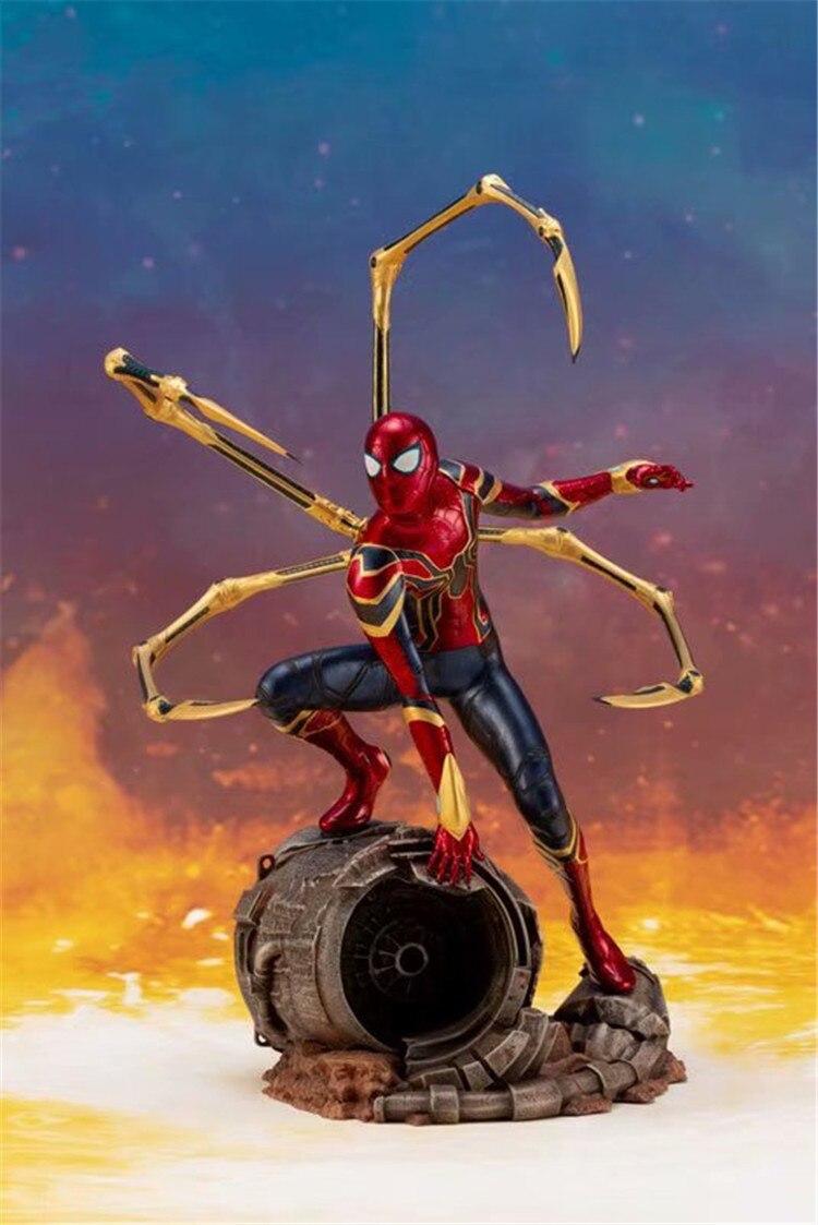 Статуэтка Человек-паук Боевая Версия Щупальца - hde8844fa562f4f21b1c9bbae871b8703u