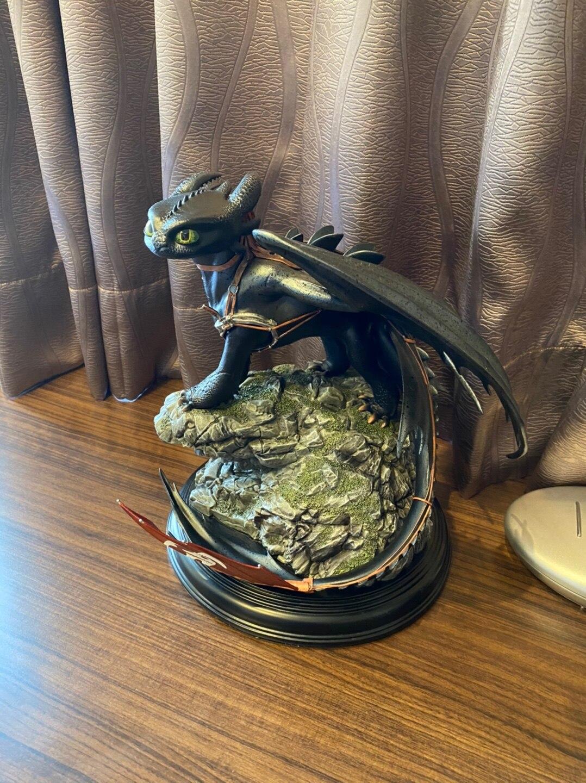 Статуэтка Дракон Беззубик 30 СМ Как приручить Дракона - hebf2499fa131455d8cf477736c982576c