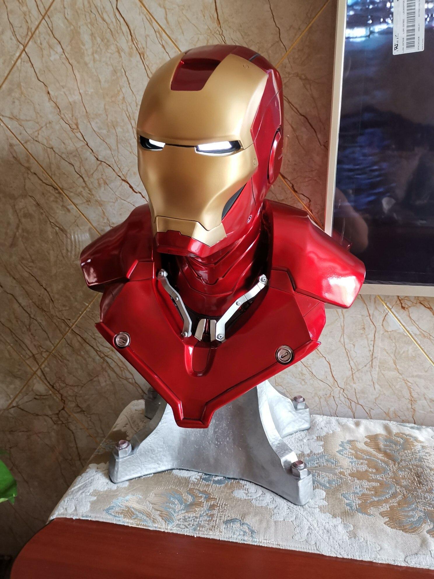 Бюст Железный Человек Марвел МК3 Светодиодный - hffd8e43e82d744cfb288cc92a96da379f