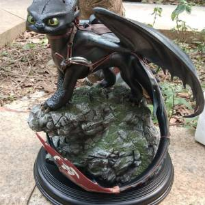 Статуэтка Дракон Беззубик 30 СМ Как приручить Дракона - tml 30