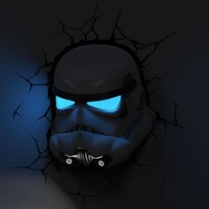 Светильник 3D Ночной Звёздные Войны Шлем Клон - unnamed file 47