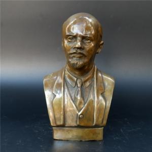 Бюст Ленин Вождь Советский Союз СССР Бронза - unnamed file 52