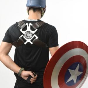 Щит Капитан Америка 1:1 Электромагнитный Ремень Держатель - vip 1 1