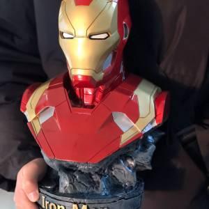 Бюст Железный Человек Статуя 18 СМ МК 46 - vip 36 super hero hero