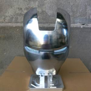 Маска Железный Человек МК2 Металлический Сплав - vip super hero hero mk2 low res scale 2 00x gigapixel