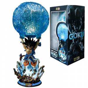 Светильник Сон Гоку Драконий Жемчуг Настольный 50 СМ - 2021 dragon ball gt spirit bomb son goku