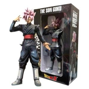 Фигурка Сон Гоку Жемчуг Дракона Розовые Волосы 31,5 СМ - dragon ball super ros