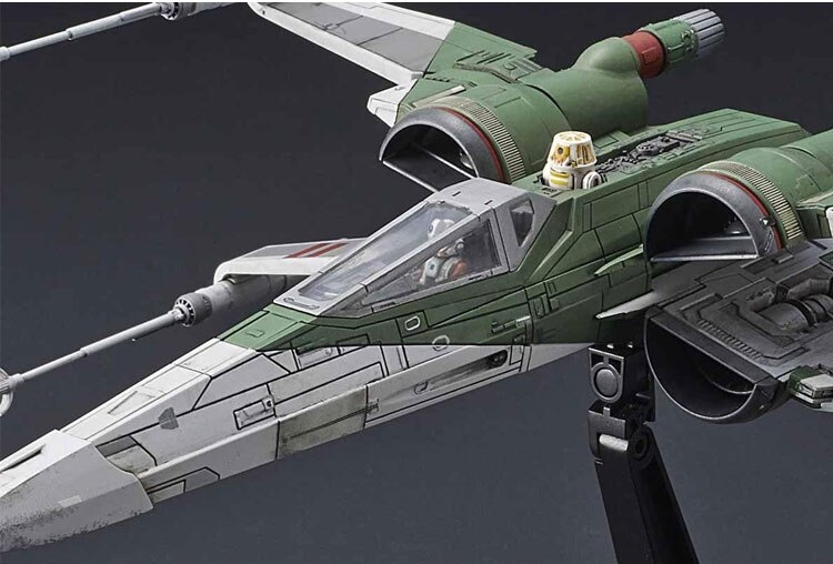 Фигурка Сборная Звездолёт Скайвокера X-Wing Звёздные Войны - h04eedc15e0db4000aeeb84e9bd680919o