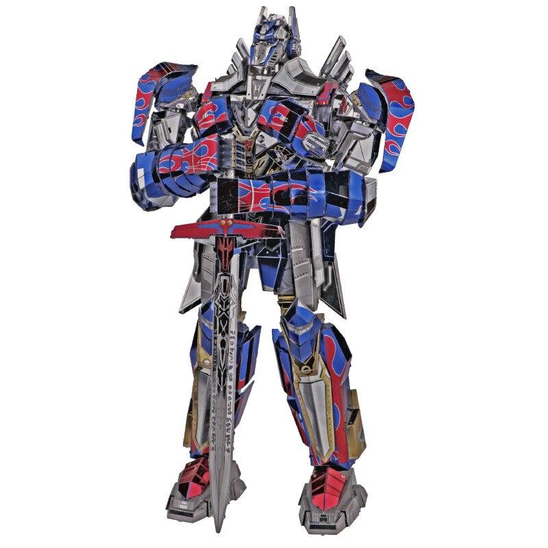 3D Пазл Трансформеры Оптимус Прайм Металлический - h78d9c77458154ad89cf4b3b62af95d50m